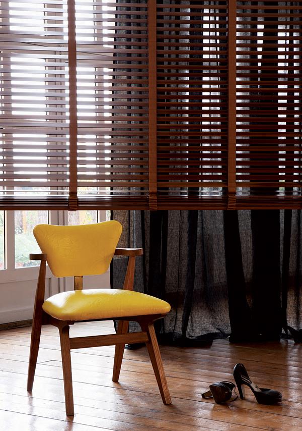 le store v nitien bois sur mesure. Black Bedroom Furniture Sets. Home Design Ideas
