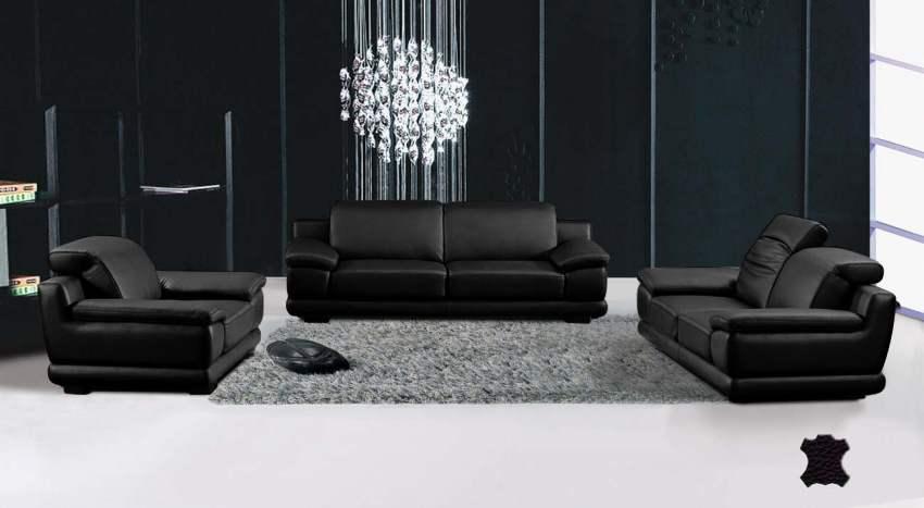 Osez les meubles design en compl ment de stores modernes for Salon cuir moderne design