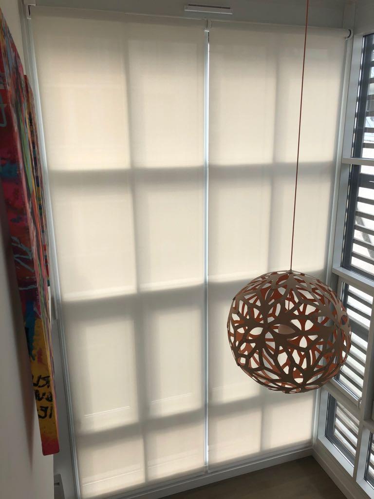 new 2 le store enrouleur int rieur xxl rue du store. Black Bedroom Furniture Sets. Home Design Ideas