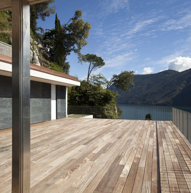Bois de terrasse sur grandes dimensions