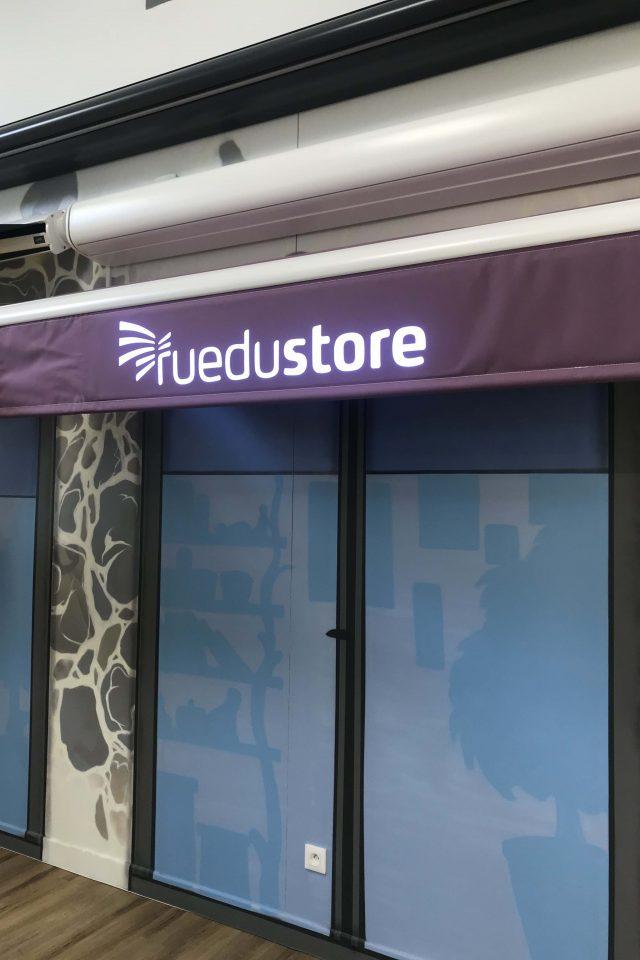 store-banne-promotionnel-violet-impression-logo
