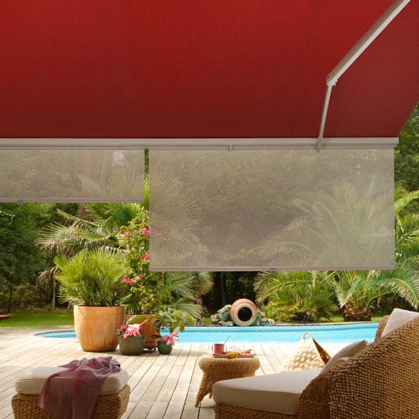 soleil rasant store banne avec lambrequin enroulable. Black Bedroom Furniture Sets. Home Design Ideas