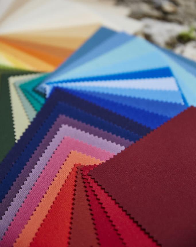 echantillons de toile acrylique de store banne