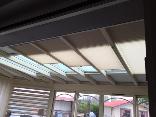 store de toiture veranda