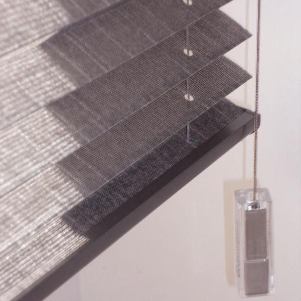 zoom plissé tissu