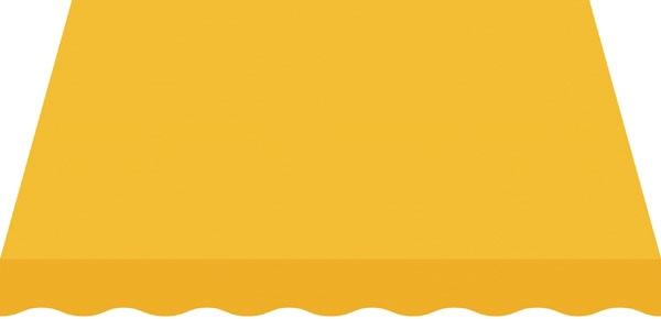 Toile jaune