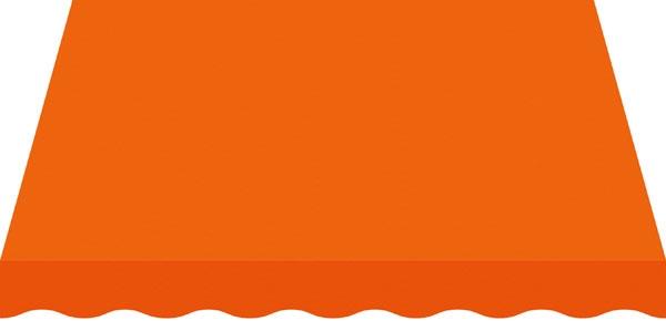 Toile orange
