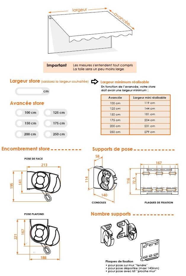 store banne franciaflex prix affordable choisir un store banne motoris with store banne. Black Bedroom Furniture Sets. Home Design Ideas