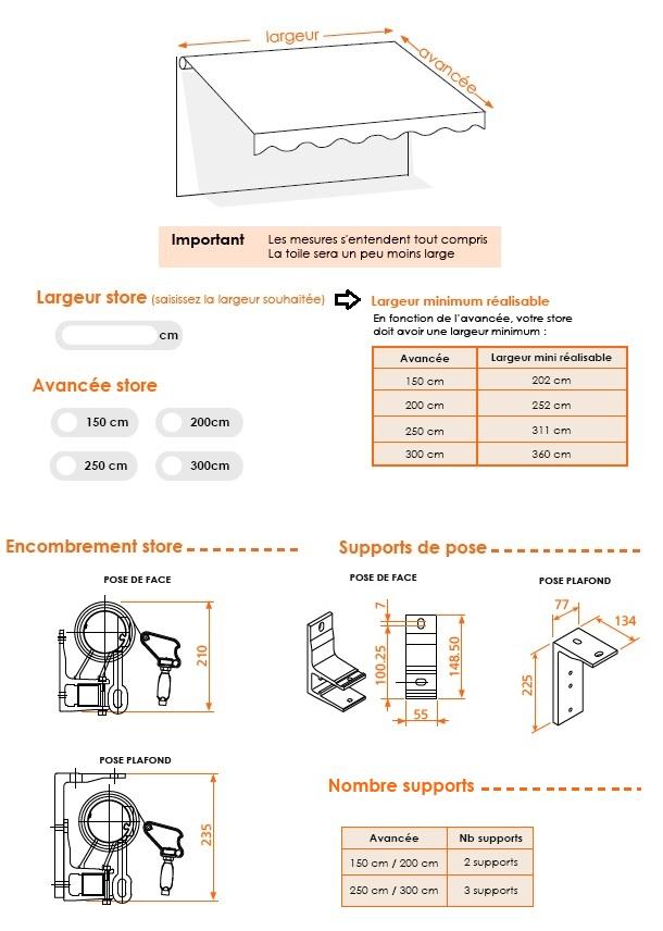 store banne monobloc sur mesure protection solaire de terrasse. Black Bedroom Furniture Sets. Home Design Ideas