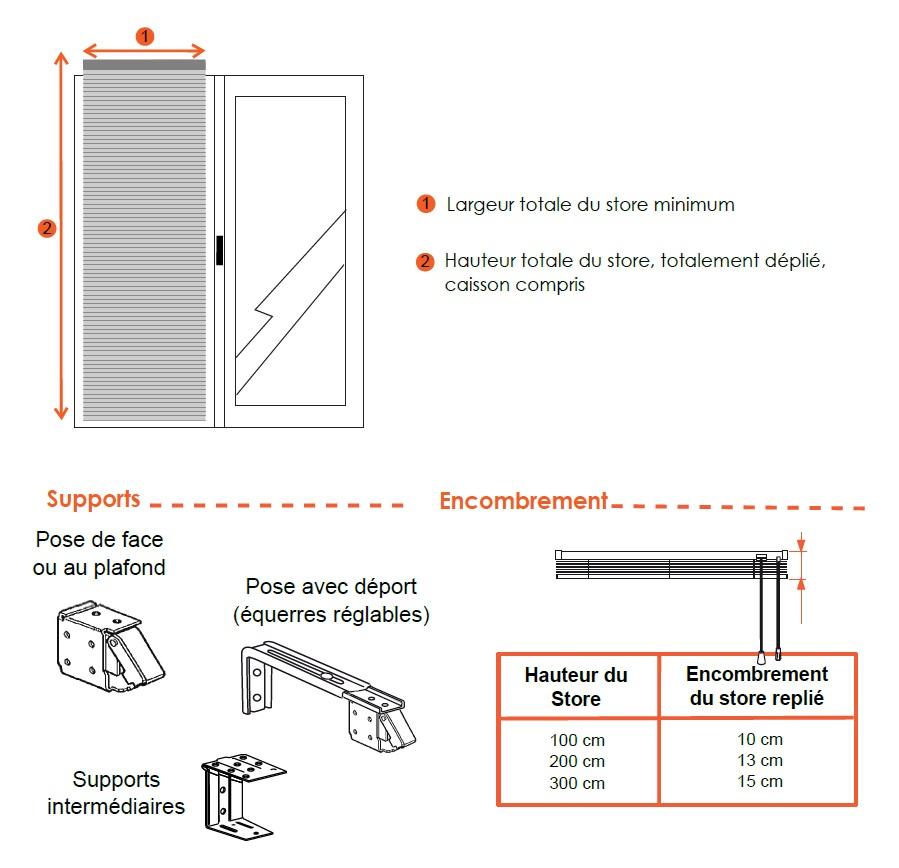 store v nitien aluminium sur mesure fen tre grande largeur. Black Bedroom Furniture Sets. Home Design Ideas