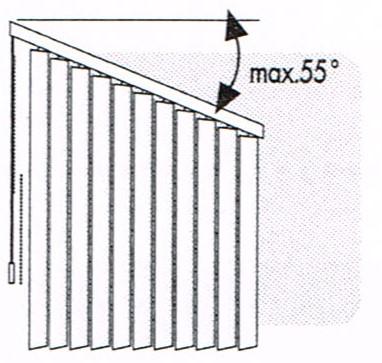 Rail incliné base droite